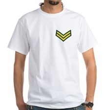 British Army Corporal<BR> Gold On Green