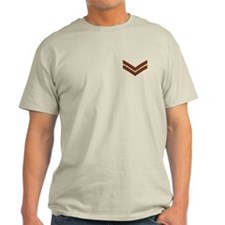 British Army Corporal<BR> Sand T-Shirt 2