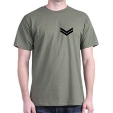 British Army Corporal<BR> Green T-Shirt 1