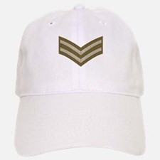 British Army Corporal<BR> White Cap