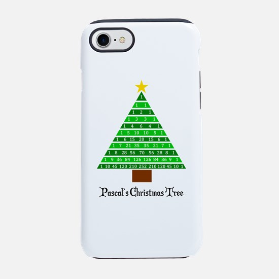 Pascal's Christmas Tree iPhone 7 Tough Case