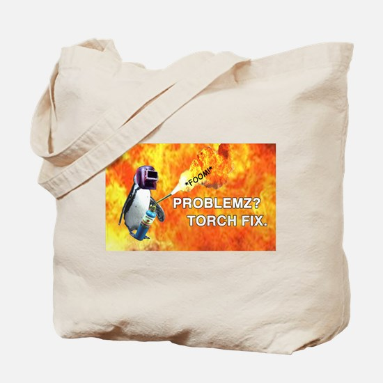 Torch fix all Tote Bag
