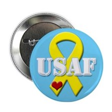 USAF Yellow Ribbon Button
