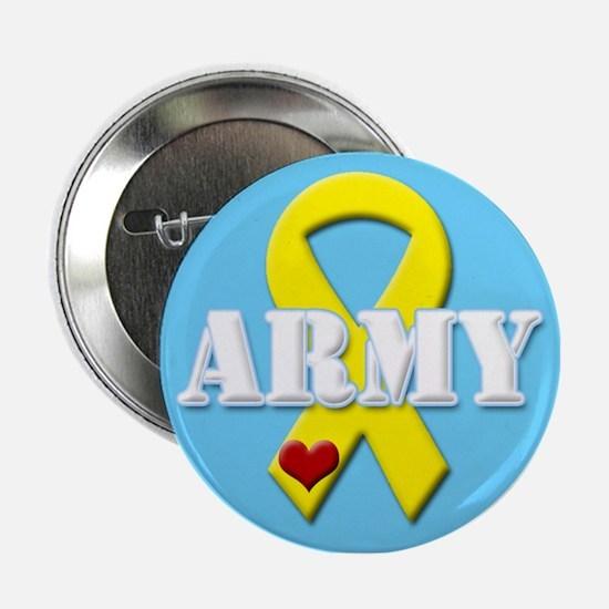 Army Yellow Ribbon Button