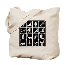 Cryptozoo Blocks Tote Bag