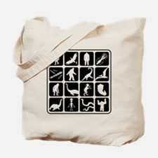 Cryptozoo Blocks Tote Bag