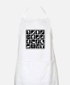 Cryptozoo Blocks BBQ Apron