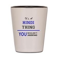 Cute Hindi Shot Glass