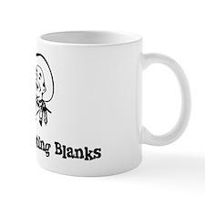 Happily Shooting Blanks Small Mug