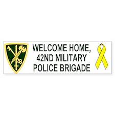 Bumper Sticker <BR>Welcome Home