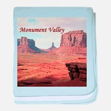 Monument Valley, John Ford's Point, U baby blanket