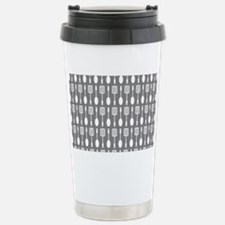 Gray Kitchen Utensils P Stainless Steel Travel Mug