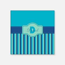 Stripes2015D2 Square Sticker 3 x 3