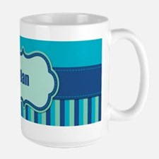 Stripes2015D3 Large Mug