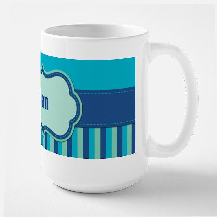 Stripes2015D3 Large Mug