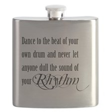 Dance To Your Own Rhythm Flask