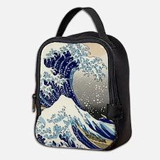 Kanagawa oki nami ura.jpg Neoprene Lunch Bag