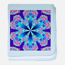 butterfly wing kaleidoscope baby blanket
