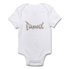 Elkaholic for the Elk Hunter  Infant Bodysuit