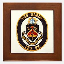USS ELROD Framed Tile