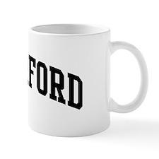 RUTHERFORD (curve-black) Mug