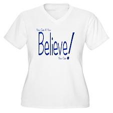Believe! (blue) T-Shirt