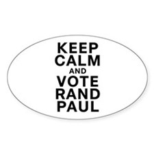 Keep Calm and Vote Rand Paul Decal