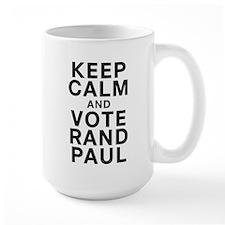 Keep Calm and Vote Rand Paul Mug