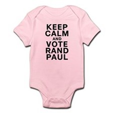 Keep Calm and Vote Rand Paul Infant Bodysuit
