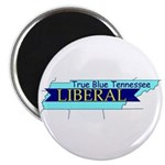 True Blue Tennessee LIBERAL Magnet