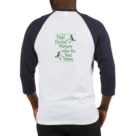 Field Hockey Drivers - Green - Baseball Jersey