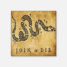 Join or Die Bandana Sticker