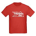 Everyone Loves a Virginia Girl Kids Dark T-Shirt