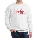 Everyone Loves a Virginia Girl Sweatshirt