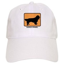 Sussex Spaniel (simple-orange Baseball Cap