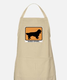 Sussex Spaniel (simple-orange BBQ Apron