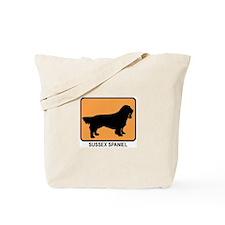 Sussex Spaniel (simple-orange Tote Bag