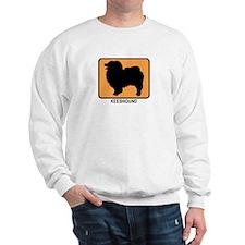 Keeshound (simple-orange) Sweatshirt