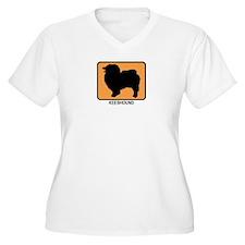 Keeshound (simple-orange) T-Shirt