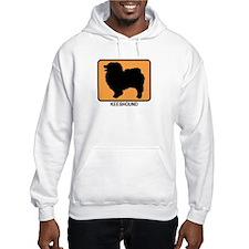 Keeshound (simple-orange) Hoodie