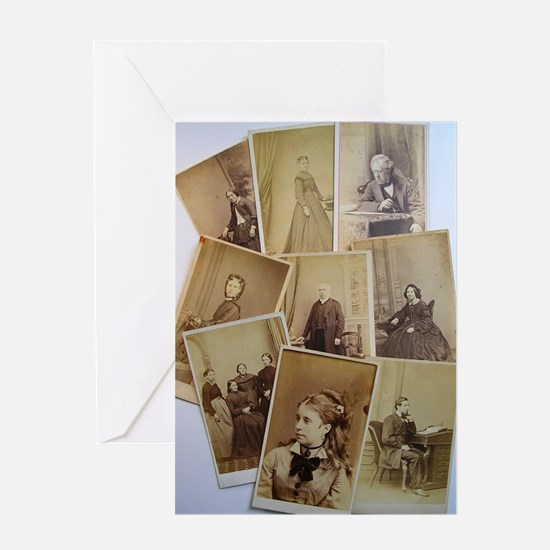 antique vintage photos Greeting Card