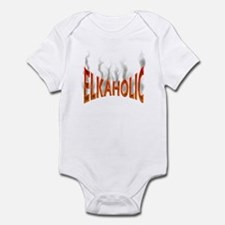 Elkaholic Elk t-shirts and gi Infant Bodysuit