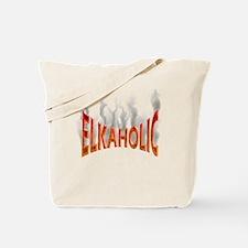 Elkaholic Elk t-shirts and gi Tote Bag