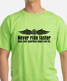 Never Ride Faster T-Shirt
