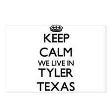 Keep calm we live in Tyle Postcards (Package of 8)
