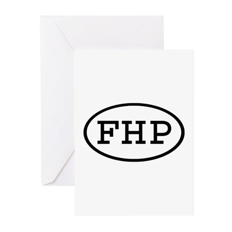 FHP Oval Greeting Cards (Pk of 10)