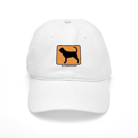 Bloodhound (simple-orange) Cap