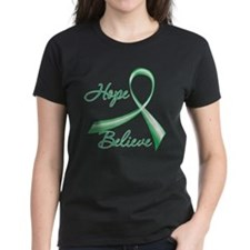 Liver Disease Hope Believe T-Shirt