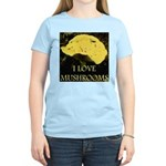I Love Mushrooms Women's Light T-Shirt