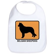 Belgian Sheepdog (simple-oran Bib